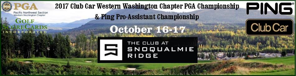 2017 Club Car WWC PGA Chapter Championship @ The Club at Snoqualmie Ridge | Snoqualmie | Washington | United States